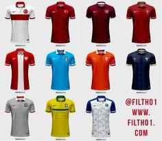 8985249da02 11 Nike kits based on Nike football jerseys.