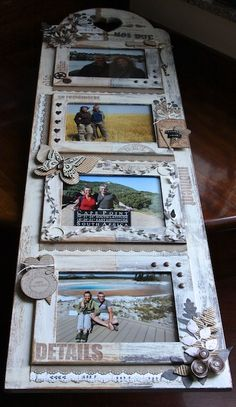 monochromatic picture frame