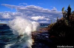 Superior Lake,  ©markscarlson.com at Alger County, Michigan