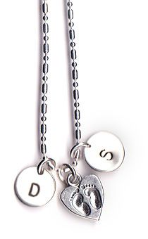 love this, got my kids and hubby initials with a heart.  It's a beautiful necklace.