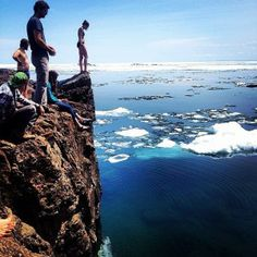 Put this on your bucket list: A polar plunge into Lake Superior