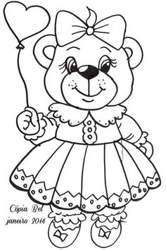 Embroidery On Kurtis, Kurti Embroidery Design, Bear Coloring Pages, Arrow Tattoo Design, Color Pencil Art, Colorful Pictures, Baby Quilts, Colored Pencils, Hand Sewing