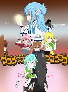 Google+ Sao Anime, Otaku Anime, Manga Anime, Sword Art Online Meme, Sword Art Online Kirito, Tous Les Anime, One Punch Anime, Sword Art Online Wallpaper, Comic Art Girls