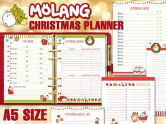 Organize your Christmas holidays, shopping and events with this funny and joyful…