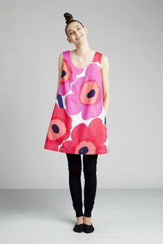Marimekko Umo Unikko dress, you make me smile.