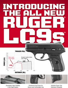Ruger LC9s - FINALLY.... they changed that stupid trigger pull. I've got my ordered!!!