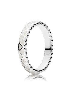 Pandora Ring - Sterling Silver & Enamel Abundance of Love