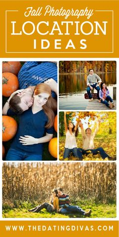 If you're curious about great location ideas, outfit ideas, and poses for a fall photo shoot, look no further! Click through for inspiration.