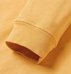 Folk loopback cotton sweatshirt.