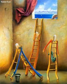ART Surrealism by VLADIMIR KUSH (Surrealisme)