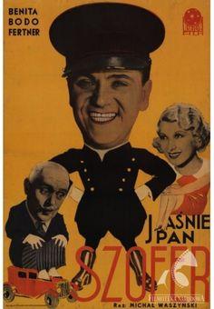 """Plakat filmu """"Jaśnie Pan Szofer"""""""