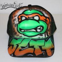 Ninja Turtles - Michelangelo - HATS GALLERY - Forbidden Art - www.forbiddenart.com.au
