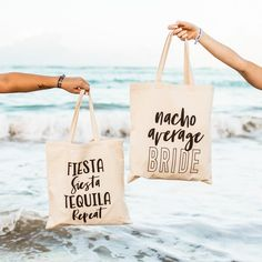 Mermaid Essentials Tote Bag Version 2 Beach Tote Bag Bride Tote Bag Gift for Bride Vacation Tote Bachelorette Party Tote Bag