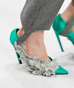 The Most Interesting Heel Shapes from the Fall 2016 Runway - Balenciaga from InStyle.com