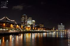 Puerto Madero - Buenos Aires - Argentina.  Spent the best New Year's Eve here with friends.