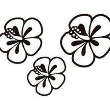 Dibujo Flores Hawaianas Dibujos De Flores Flores Hawaianas Flor Hawaiana Dibujo