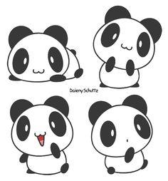 Little Panda by Daieny.deviantart.com on @DeviantArt