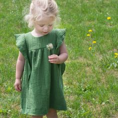 Kids Clothes Patterns, Sewing Kids Clothes, Girl Dress Patterns, Sewing Patterns For Kids, Sewing For Kids, Baby Patterns, Clothing Patterns, Gauze Clothing, Winnie