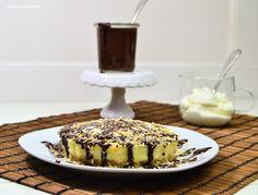 Ein Glücklichmacher: Knusper-Kokos-Cheesecake mit Schoko-Kokos-Sauce | Das Knusperstübchen