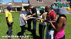 MMI Group Corporate Fun Day team building event in Cape Town, facilitated and coordinated by TBAE Team Building and Events Quick Team Building Activities, Team Building Exercises, Team Building Events, Minute To Win It, Camping Games, Teamwork, Good Day, A Team, Challenges