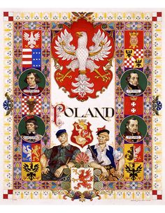 Animated history of Poland in 10 minutes - and the magnificent posters and caricatures of Arthur Szyk (vintage WWII): http://www.szyk.com/szyk-art/subject-areas.htm