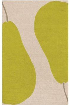 "for @Toby Goldsmith Amazon.com: Poire Area Outdoor Area Rug, 5'X7'6"", BEIGE GREEN: Patio, Lawn & Garden"