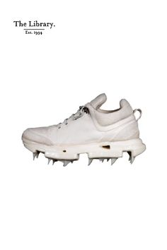 @ #TheLibrary1994 #CarolChristianPoell #CCP ~ Carol Christian Poell  #Iced #Paper #Dart #Handled #Low #Top #trainers in #White  #unique #artisanal #wearable-art  @ The Library 1994 #Kensington #London #BeyondTheOrdinary Kensington London, Wearable Art, Trainers, Artisan, Christian, Paper, Unique, Top, Tennis