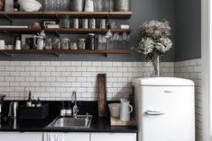 kitchen corner from Dry Creative studio. photol by Mikael Axelsson