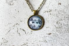 The Green Lady Cabochon Necklace