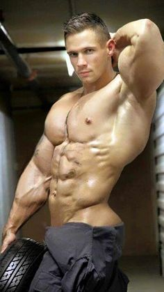 Sexy muscle studs