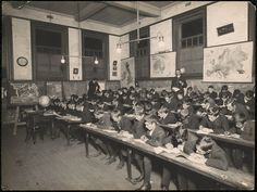 Cooks Hill Public School - Geography Class   by NSW State Archives and Records