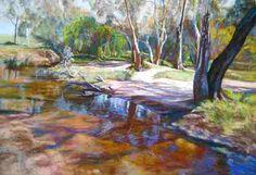 Creek Crossing - Lynda Robinson