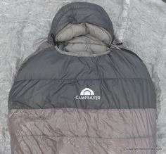 The Campsaver Ultralight 30 Down Sleeping Bag is filled with 10.8 ounces of 850 fill power goose down.