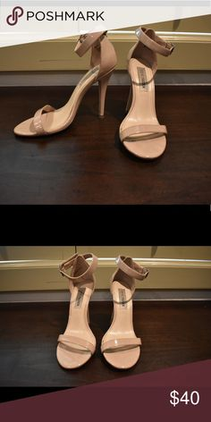 Steve Madden Sandals with heel Nude sandals with heel. These are so instyle right now and perfect for multiple occasions! Steve Madden Shoes Heels