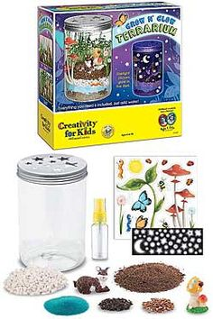 I loved creating terrariums as a kid, and after trying out this nifty kit, I realize I love them just as much now as I did then. There is nothing quite like creating your own little secret garden.