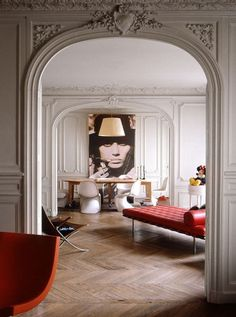....Modern with a retro twist. The art you display says a lot about you. A bold retro image can change a room instantly....x