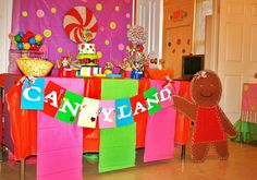 Custom styled Candyland Party designed by The Theme of Things