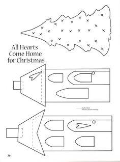 Christmas at the Cottage_Patchwork design by Brenda Randall and Sharon Williams - NorisHLP HLP - Álbuns da web do Picasa