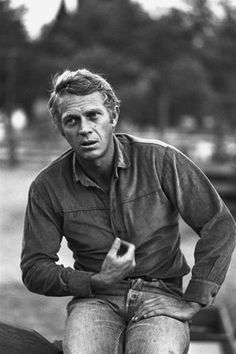 #Sixties | Steve McQueen during the filming of Nevada Smith, 1966