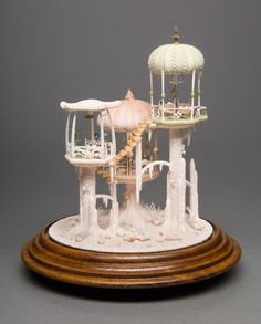 Peter Gabriel | Miniature Mermaid Dollhouse: every detail is crafted out of shells and ocean life
