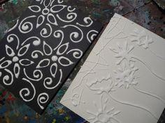Glue & foil art