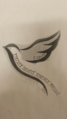 simple memorial tattoos for mom id: 88233 / Source
