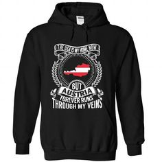 the United States is My Home Now But  Austria forever runs through my veins T-Shirts, Hoodies (39.99$ ==►► Shopping Here!)