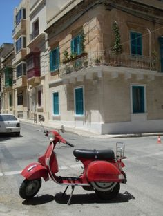The streets of Sliema, close to St Julians and Elanguest.
