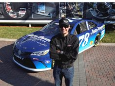 Driver Martin Truex Jr. with the #78 Auto-Owners Insurance car!