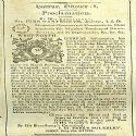 Proclamation The Province, Nova Scotia, History, Historia