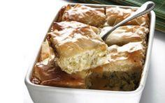 Πρασόπιτα Greek Recipes, Apple Pie, Lasagna, French Toast, Oven, Appetizers, Cheese, Breakfast, Ethnic Recipes