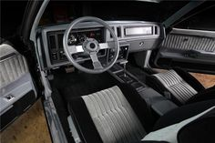 Super Low Mile 1987 GNX at Barrett-Jackson Scottsdale - GM High-Tech Performance Buick Grand National Gnx, 1987 Buick Grand National, My Dream Car, Dream Cars, Inside Car, Buick Cars, Buick Regal, Interior Photo, Performance Cars