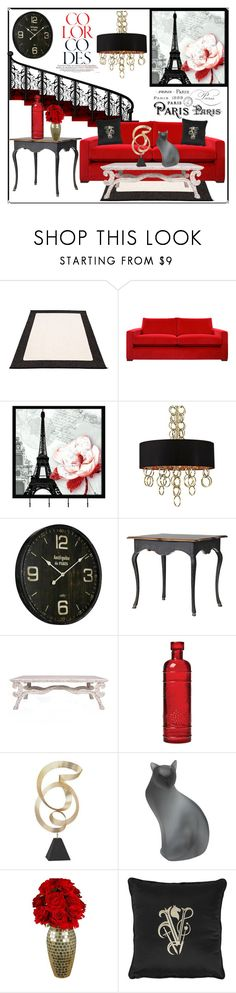 """""""Staircase"""" by hastypudding ❤ liked on Polyvore featuring interior, interiors, interior design, home, home decor, interior decorating, Pappelina, Universal Lighting and Decor, Eurofase and Ballard Designs"""