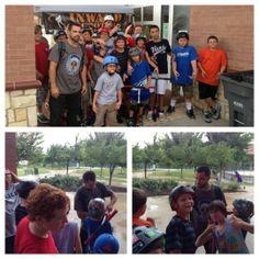 TSC Skateboard Camp Allen, TX #Kids #Events